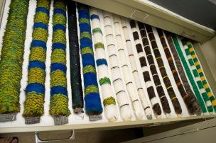 Feather leis
