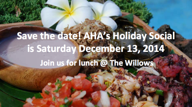 2014 Holiday Social Save the Date