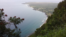 View from the Pali trail. Photo Credit: J. Sommer