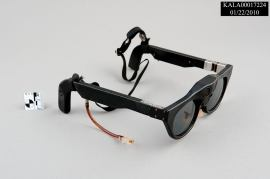 These battery operated eyeglasses (Model MK II Sonicguide) from the park's museum collection are special because they assisted blind patients' mobility. One signal transmitter, two receivers (located on the bridge) and tubes that carried audible tones produced from the receivers to hearing aids helped patients' awareness of objects in their travel path of up to twenty feet! Photo Credit: NPS