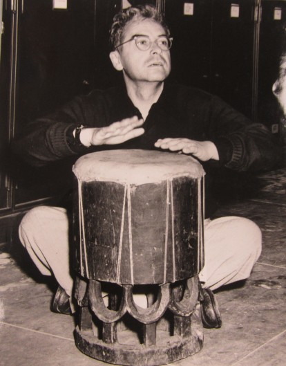 JC PORTRAIT 1949 drum