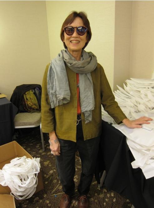 "Carol Hasegawa was featured in the blog, ""Librarian Wardrobe""!"