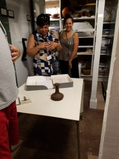 Visiting the Hale Hōʻikeʻike archive!