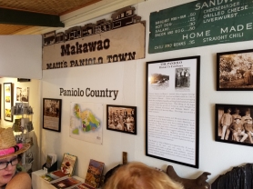 Makawao is known as a paniolo town and is deeply rooted in horse and cattle culture