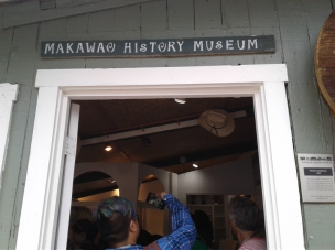 The Makawao History Museum was very small, but big in heart and soul!