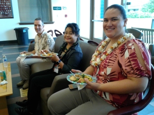 Here's our UH Maui host Shavon Matsuda who saved the day!