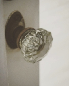 Typical plantation house door knob. This was in the home that houses the A&B archive.