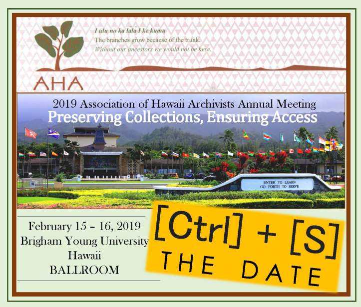 AHA 2019_SaveTheDate