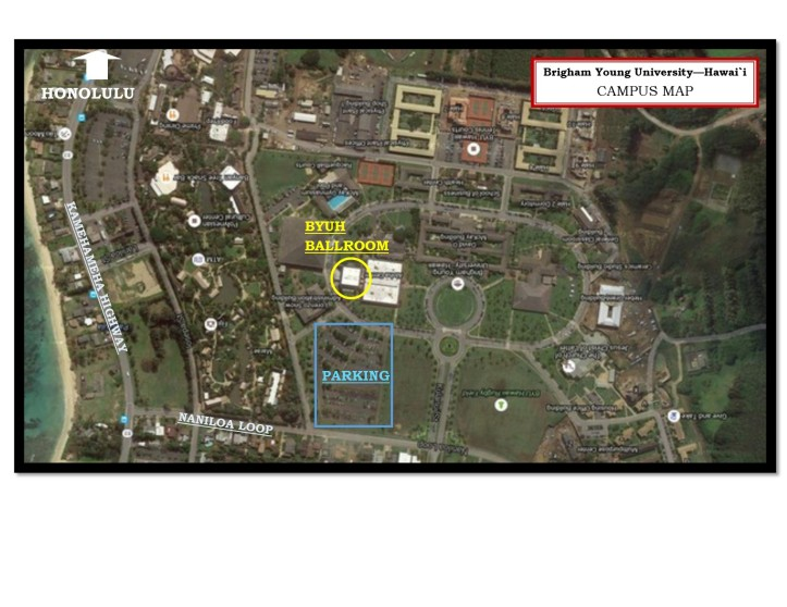 BYUH Campus Map